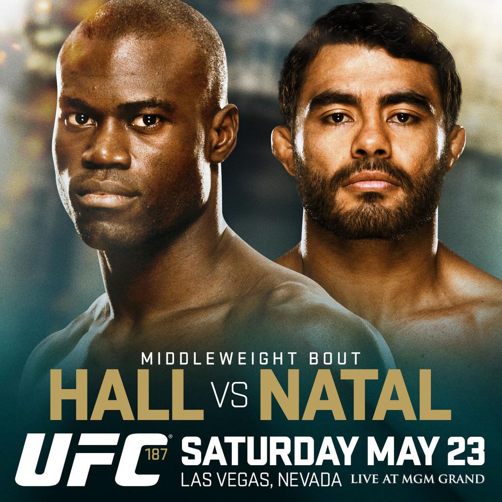 Sapo x Hall é um combate agendado para o super card do UFC 187. Foto: Divulgação