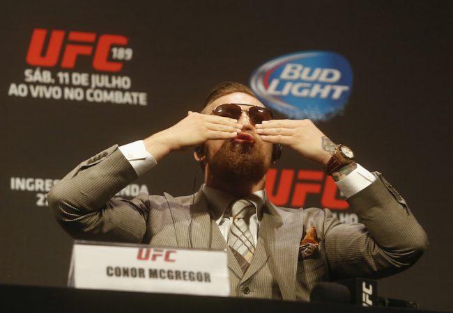 O que você diria a Conor McGregor se o encontrasse num pub?