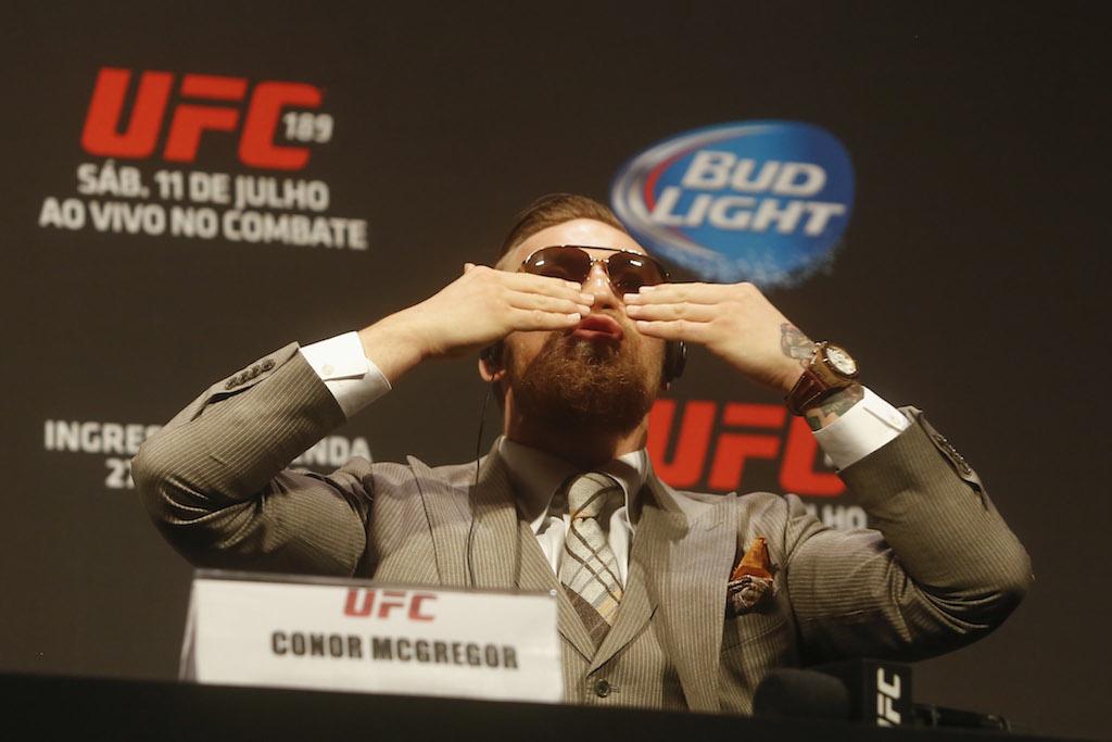 Conor McGregor no UFC Rio: William Lucas / Inovafoto
