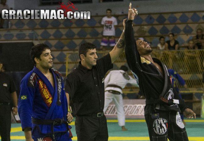 Jiu-Jitsu: Erberth Santos e a chave de pé que valeu ouro absoluto no Floripa Open