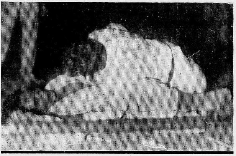 Estrangulamento duplo entre George Gracie e Yano em 1940 Foto Reproducao