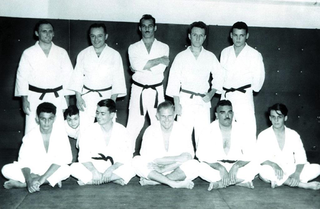 Familia Gracie com Carlos Helio e irmãos Arquivo Familia Gracie