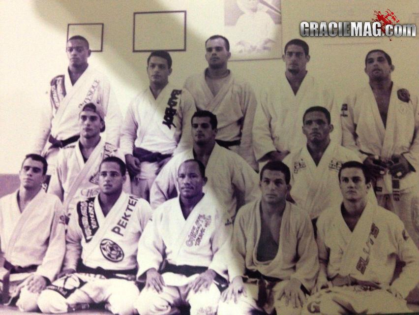 Selecao brasileira de Jiu Jitsu de 1995 Foto Arquivo Marcio Feitosa
