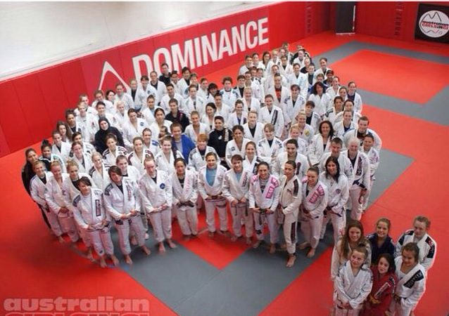 Sophia Drysdale teaches BJJ camp for 120 women in Australia