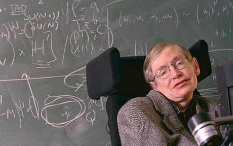 Stephen Hawking em foto de divulgacao