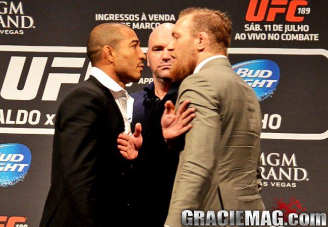 Vídeo: Aldo, McGregor, Ronda e Bethe nas encaradas do UFC World Tour
