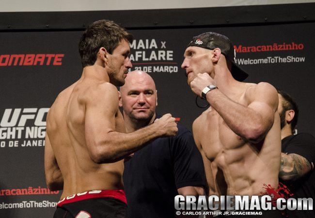 Confira os resultados, em tempo real, do UFC Rio 6: Maia x LaFlare