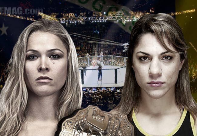 UFC: Ronda Rousey x Bethe Correia no Brasil?