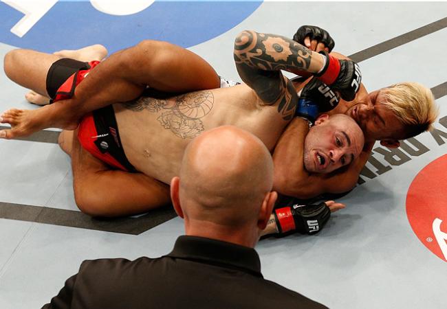 Jiu-Jitsu no UFC: Kiichi Kunimoto e seu mata-leão