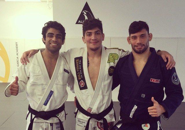 Marcelo Garcia promotes Diniz, Khera, Danis to black belt