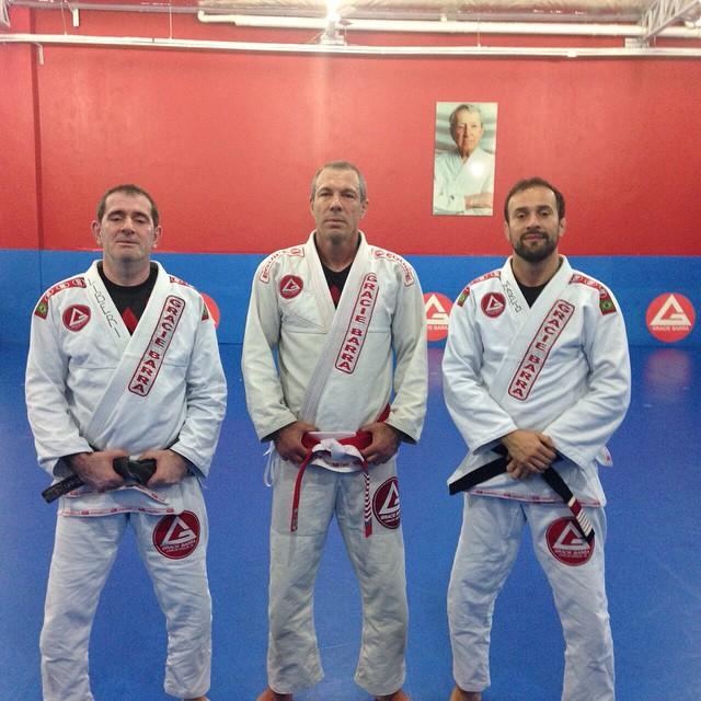 Carlos Liberi, Carlos Gracie Jr and Marcio Feitosa