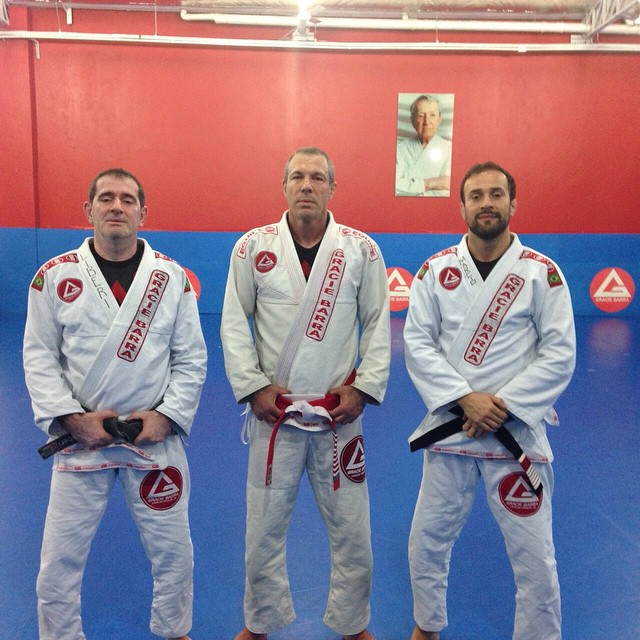 Carlos Liberi, Carlos Gracie Jr and Marcio Feitosa