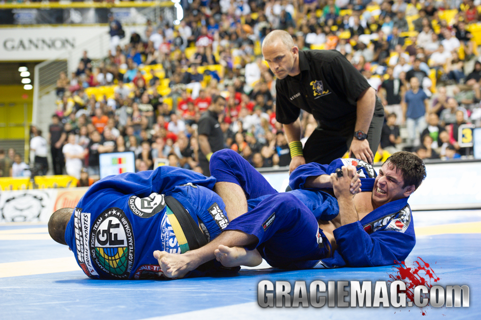 2012 - Marcus Buchecha vs. Rodolfo Vieira - Black belt open class quarterfinals Photo: Dan Rod