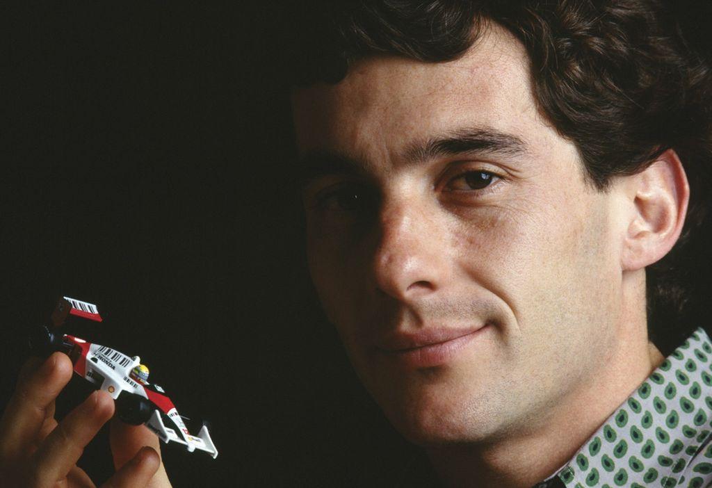 Ayrton Senna, ídolo do Brasil na Formula-1. Foto:  Instituto Ayrton Senna