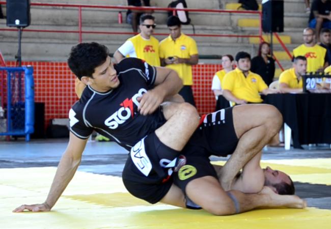 Veja como Felipe Preguiça venceu o colega Victor Estima na seletiva do ADCC 2015
