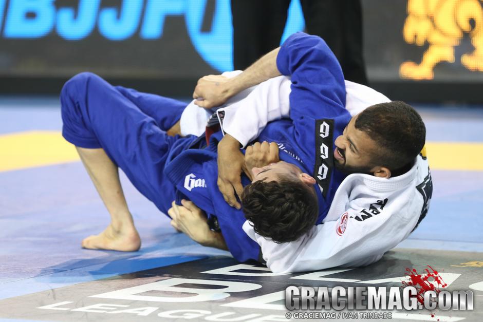 Caio Terra vs. Bruno Malfacine at the 2015 Pan