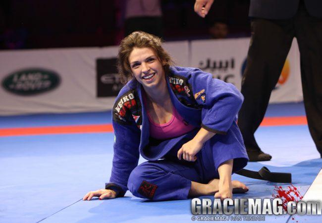 Mackenzie Dern revela como lapidou seu leglock e dá conselho às lutadoras de Jiu-Jitsu