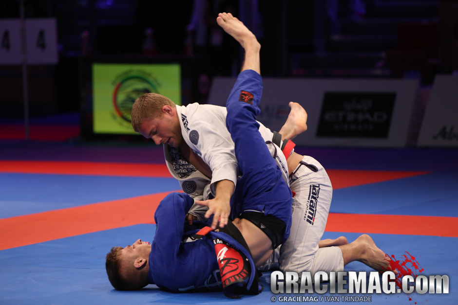 Trans vs. Keenan at the 2015 WPJJC black belt open class semifinal