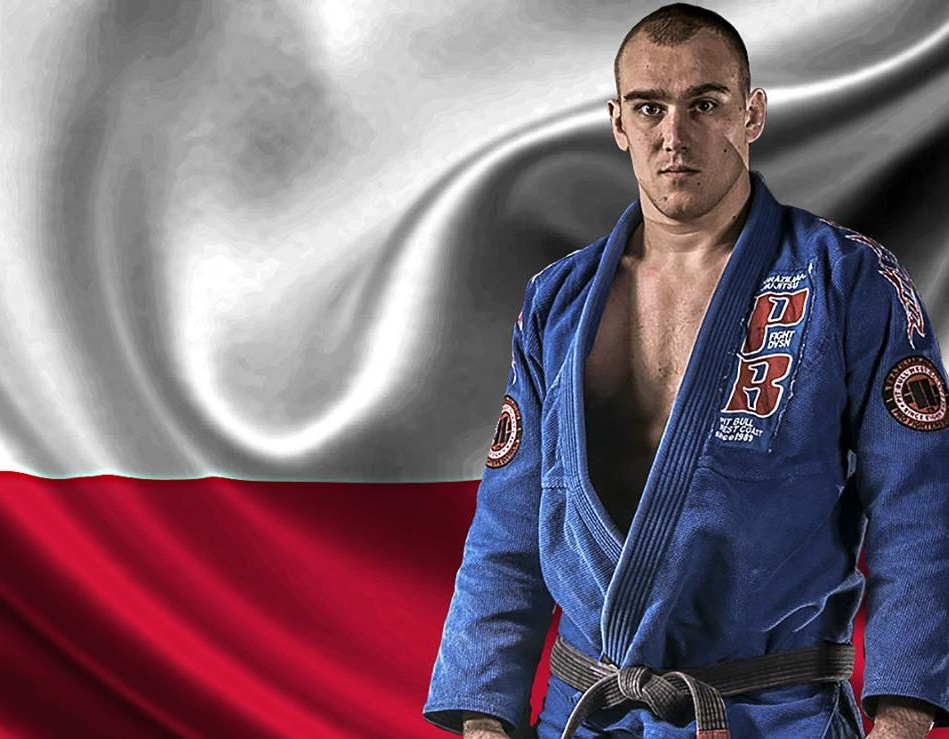 Maks representa a Polonia na Copa Podio de Jiu Jitsu Foto Copa Podio divulgacao