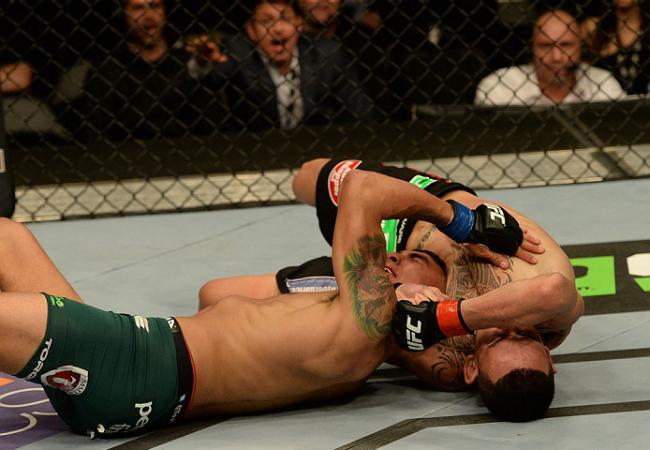 Jiu-Jitsu no UFC Nova Jersey: a guilhotina de Max Holloway