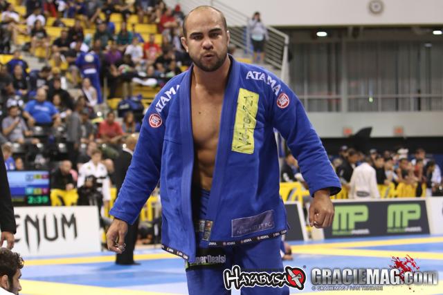 Bernardo Faria still IBJJF adult male black belt ranking leader