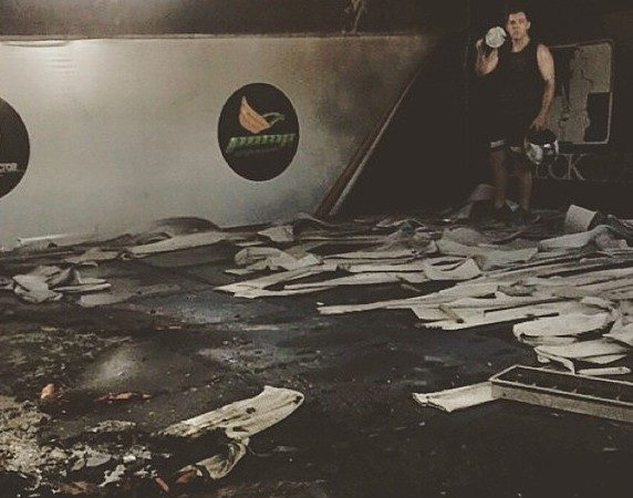 Checkmat's Tarcisio Jardim needs help to rebuild academy destroyed by fire