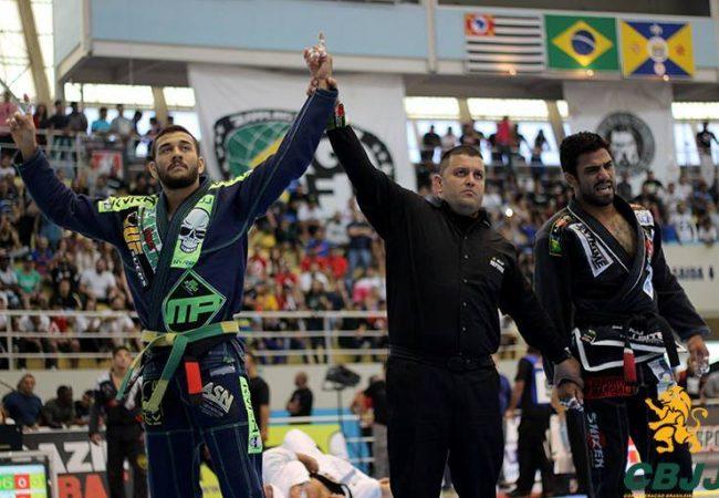 Brasileiro 2015: Erberth e Renato Cardoso na final do absoluto faixa-preta