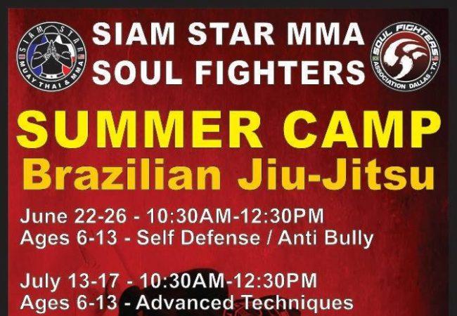 Join the Soul Fighters Jiu-Jitsu summer camp in Dallas
