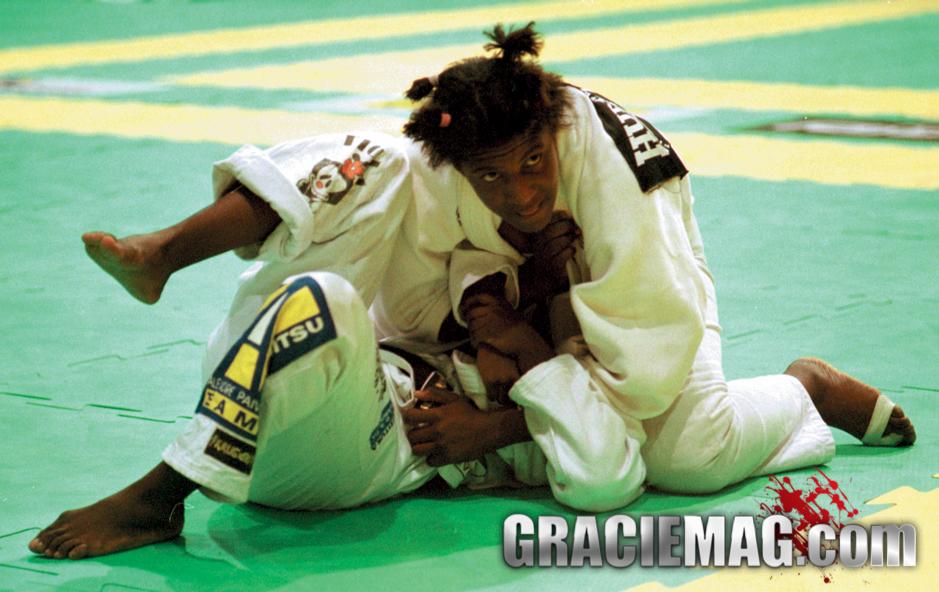 Rosangela Conceição competing in the 1998 Worlds. Photo: Gustavo Aragão