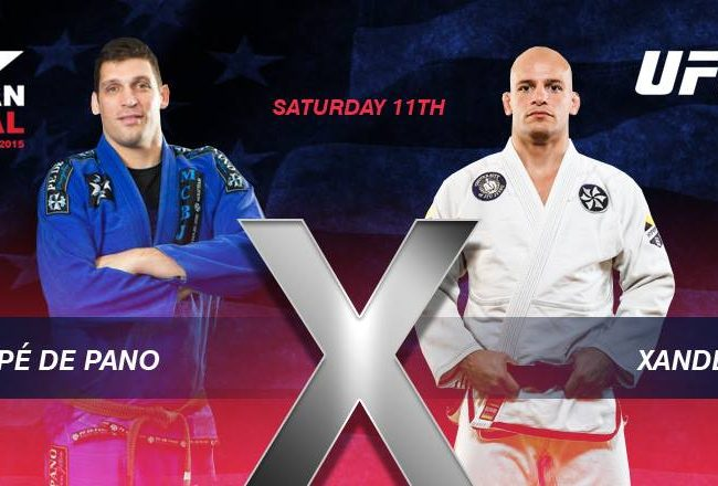 IBJJF announces Xande vs. Pe de Pano at the American Nationals, on July 11