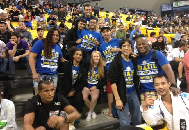Brazil 021 crew at the 2015 Worlds