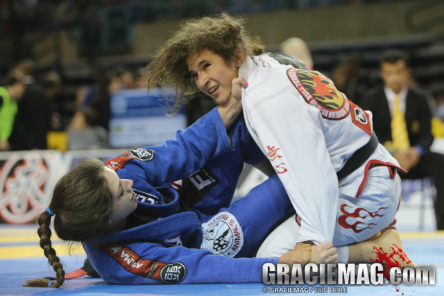 Mackenzie Dern at the 2014 Pan. Photo: Erin Herle