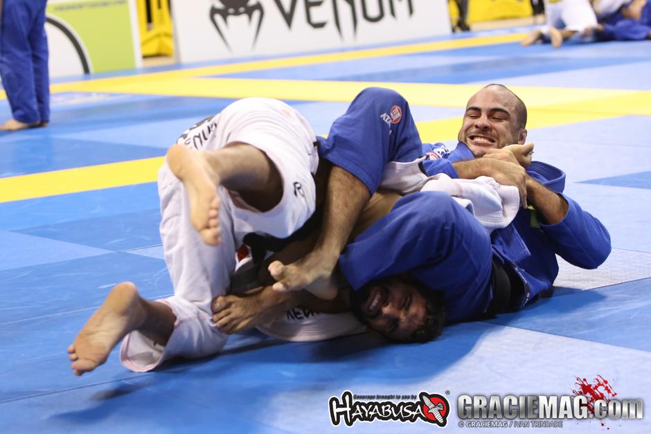 Bernardo Faria teve um ano perfeito, com o ouro duplo no Mundial de Jiu-Jitsu, na Califórnia. Foto: Ivan Trindade