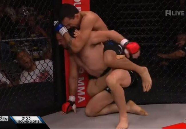 RFA 26: veja como Bruno Frazatto finalizou no mata-leão no MMA