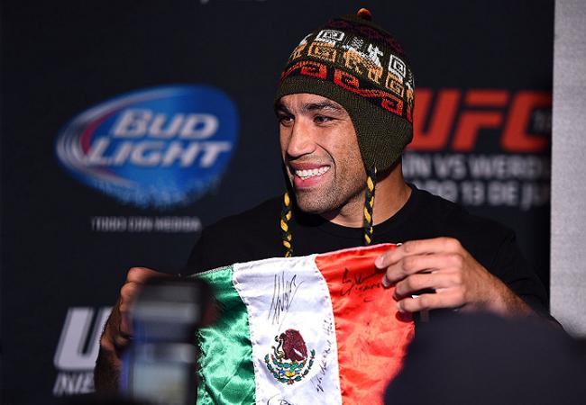 Fabricio Werdum, o campeão do UFC que finaliza sorrindo