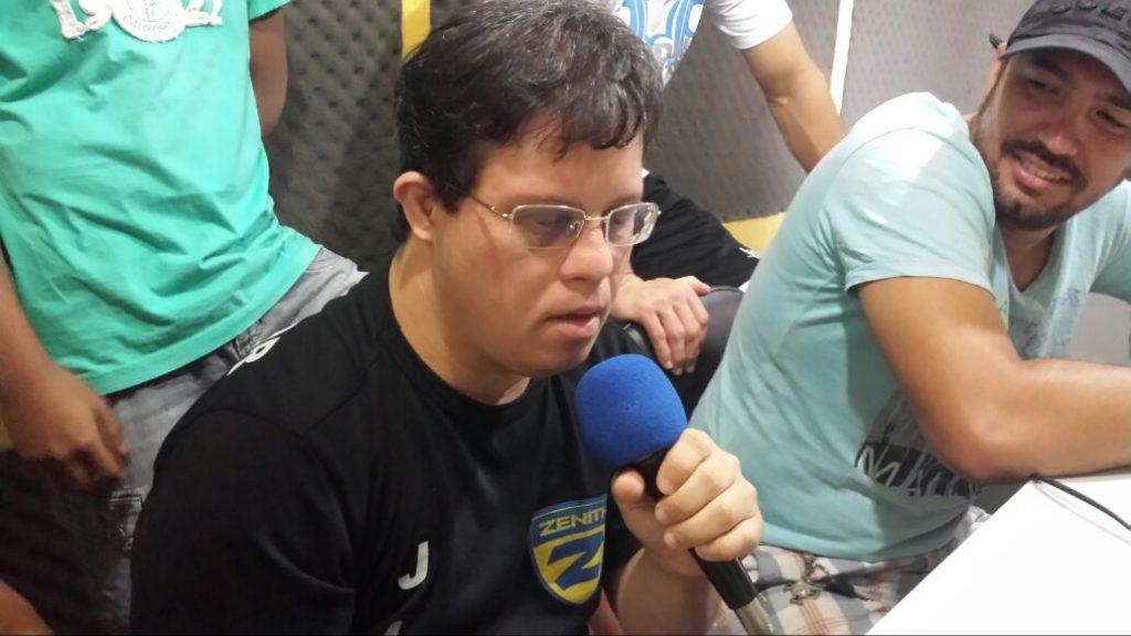 Wanguinho Henrique nunca desistiu. Foto: Arquivo Pessoal