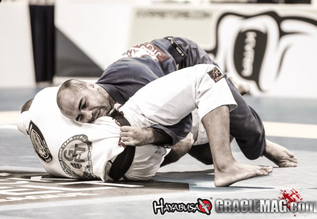 Bernardo Faria teaches his trademark double-under guard pass