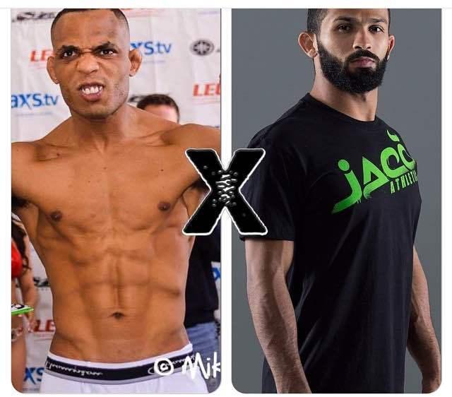 Malfacine vai lutar contra Rafael Barata. Foto: divulgação