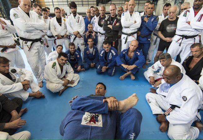 Renzo Gracie em seminario da acadepol no Rio. Foto Luca Atalla