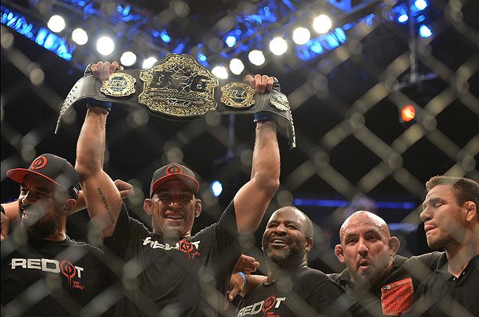 Werdum conquistou o cinturão do UFC. Foto: Jeff Bottari/Zuffa LLC/Zuffa LLC