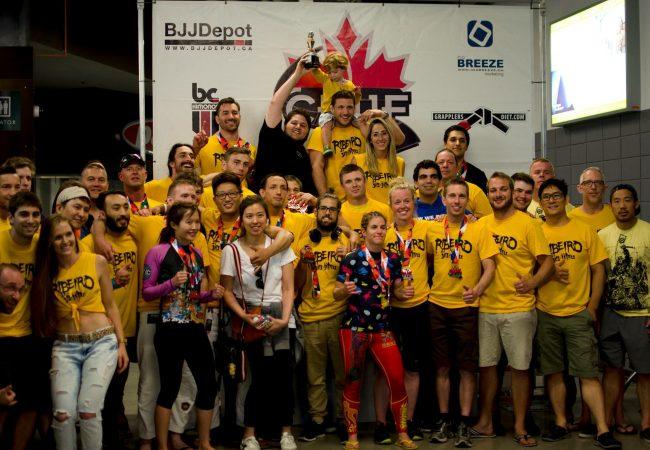 Ribeiro Jiu-Jitsu cleans up at the Canadian BJJ BC Provincial championships