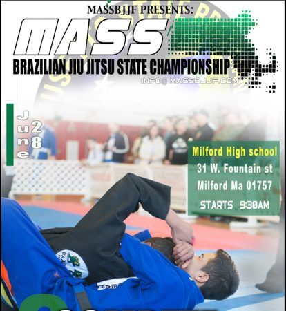 Register to compete at the Mass BJJ State championship next June 28