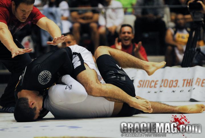 Marcelo Garcia vs. Kron Gracie at the 2009 ADCC, in Barcelona, Spain.