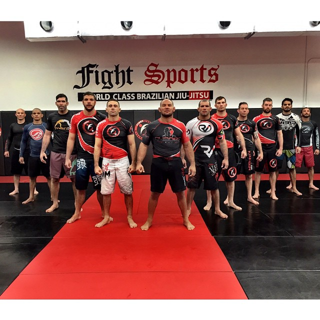 The camp at Cyborg's academy in Miami. Photo: Roberto Cyborg Instagram