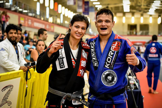 Arnaldo Maidana and Monique Carvalho. Photo by Mike Calimbas