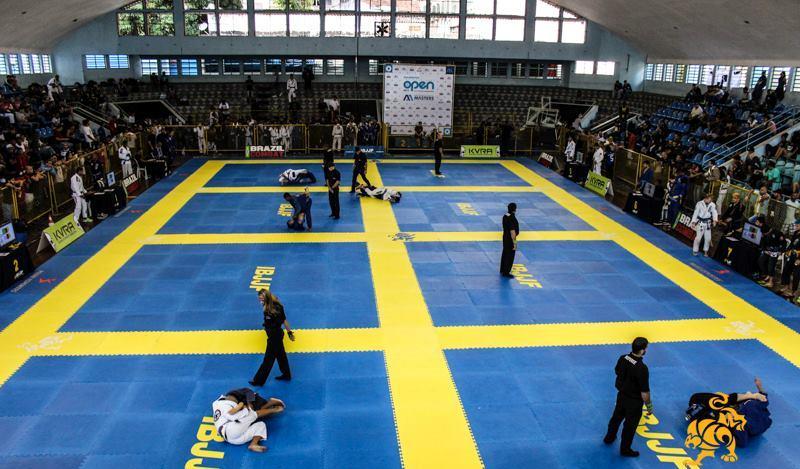 O campeonato está pegando fogo. Foto: Marco Aurélio/Arena Jiu-Jitsu