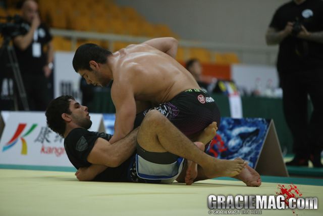 """João Gabriel: """"I came to train here because Cyborg's the best no-gi grappler in the world"""""""