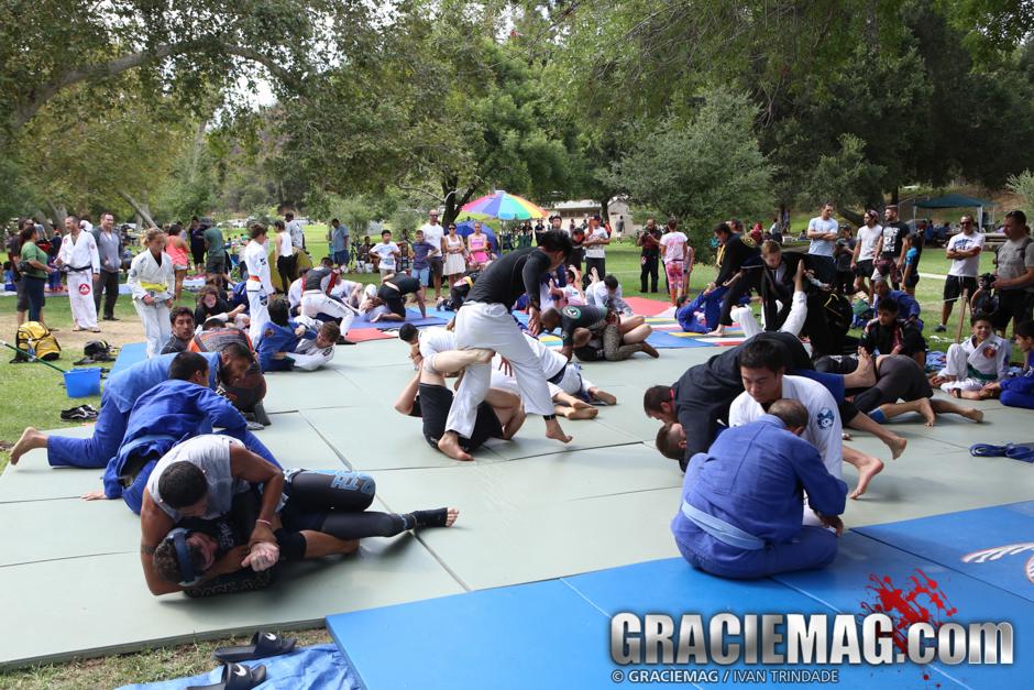 Jiu-Jitsu in the Park in LA
