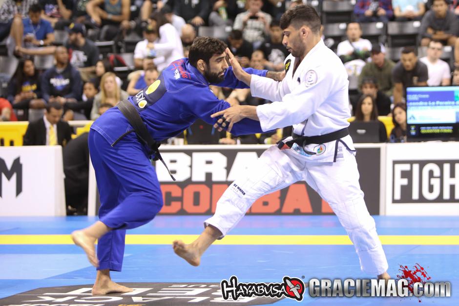 Matheus Diniz contra Leandro Lo no Mundial 2015