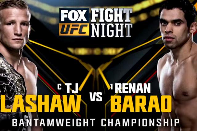 UFC Chicago: Dillashaw TKOs Barão; Tate beats Eye, earns title shot